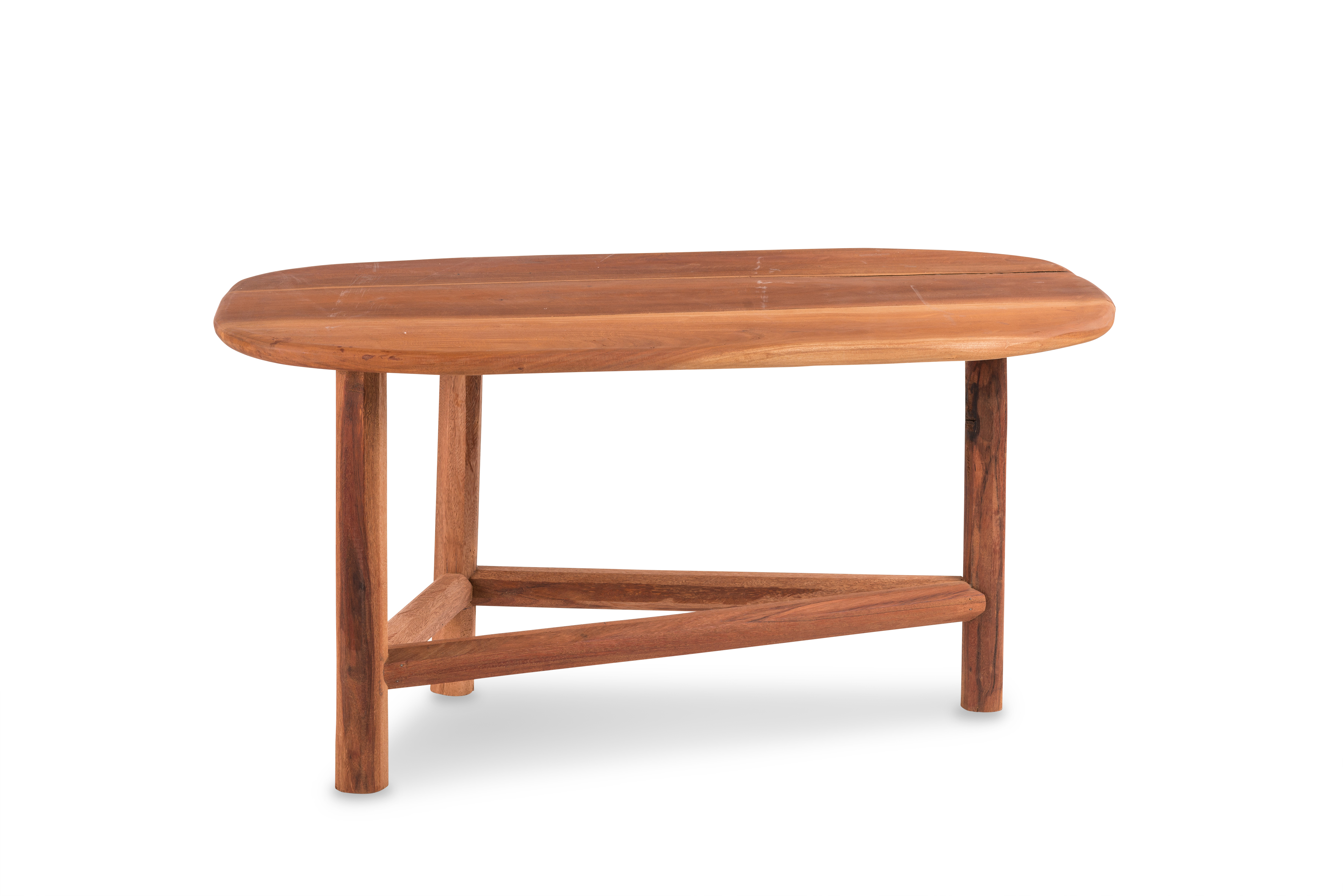 Table basse plateau ovale - Table basse ovale bois ...
